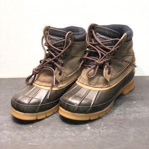 Donner Mountain Klondike JR Brown Suede Boots Snow